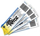 Golden VIP tickets for the event with Eric Prydz
